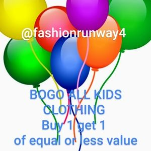 All kids clothing